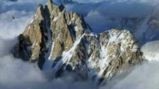 The French Alps, Mont Blanc , Aiguille du Midi