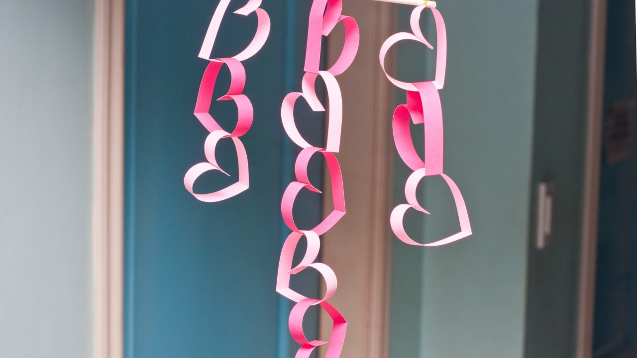 Make an Easy Valentine Door Decoration - DIY Home ...