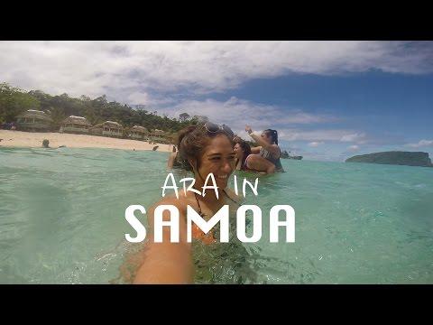 Ara In Samoa Vlog 2014