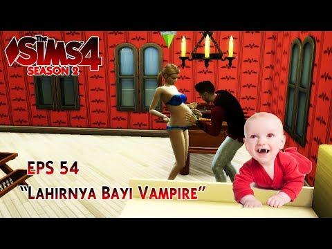 WIDIH!!! Bayi Vampire Terlahir - The Sims 4 Indonesia