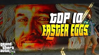 GTA 5: TOP 10 DER GEHEIMSTEN EASTER EGGS | GTA 5 EASTER EGGS DEUTSCH