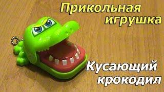 Прикольна іграшка Кусає крокодил. Посилка з AliExpress