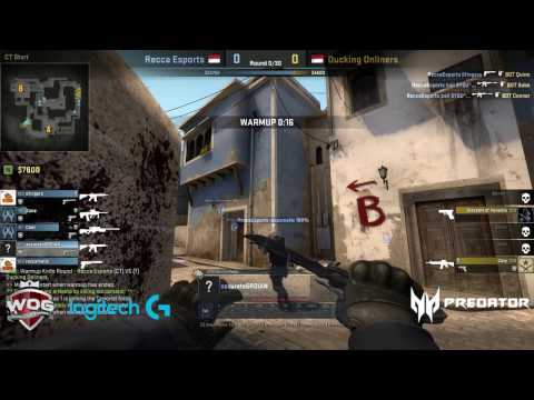 World Of Gaming CS:GO Final '16 Recca Esports VS Ducking Onliner