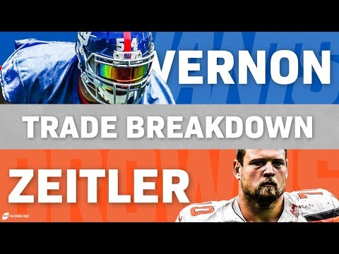 Kevin Zeitler for Olivier Vernon Trade | PFF