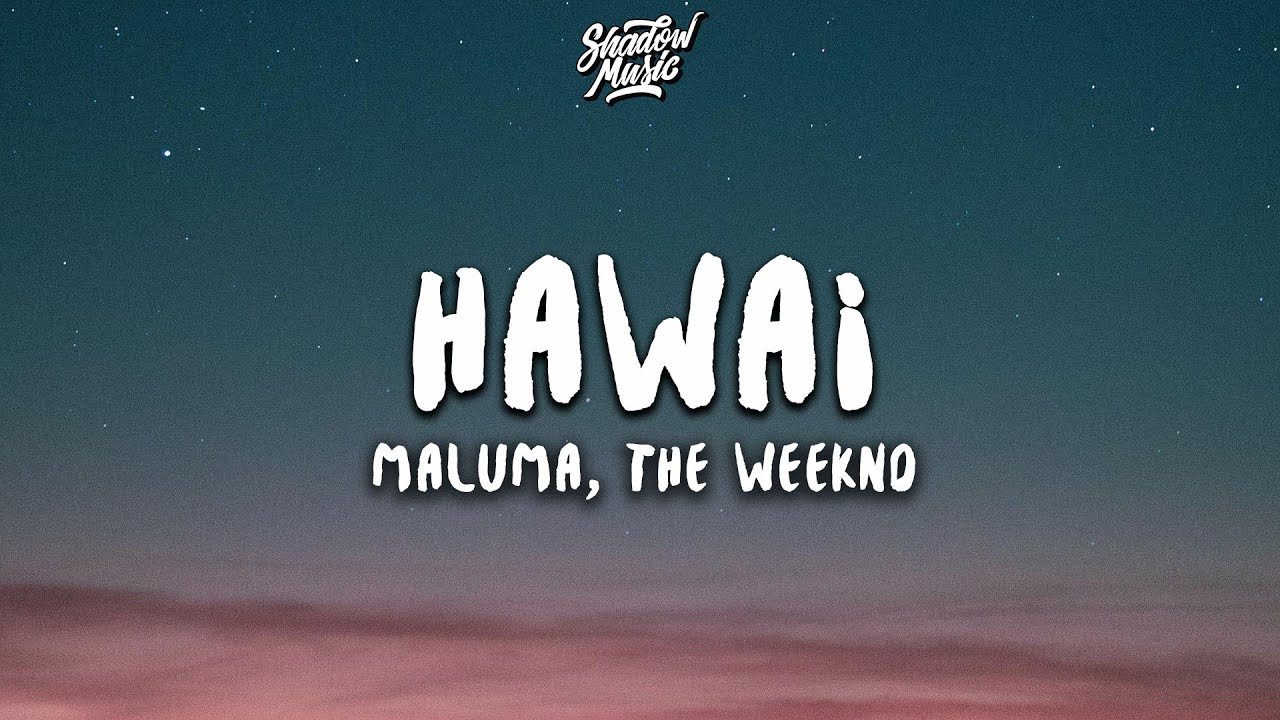Download Maluma, The Weeknd - Hawái Remix (Lyrics)