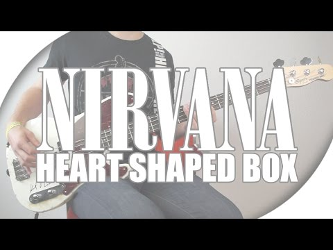 Nirvana - Heart Shaped Box | Drum + Bass Cover  with Live Tabs