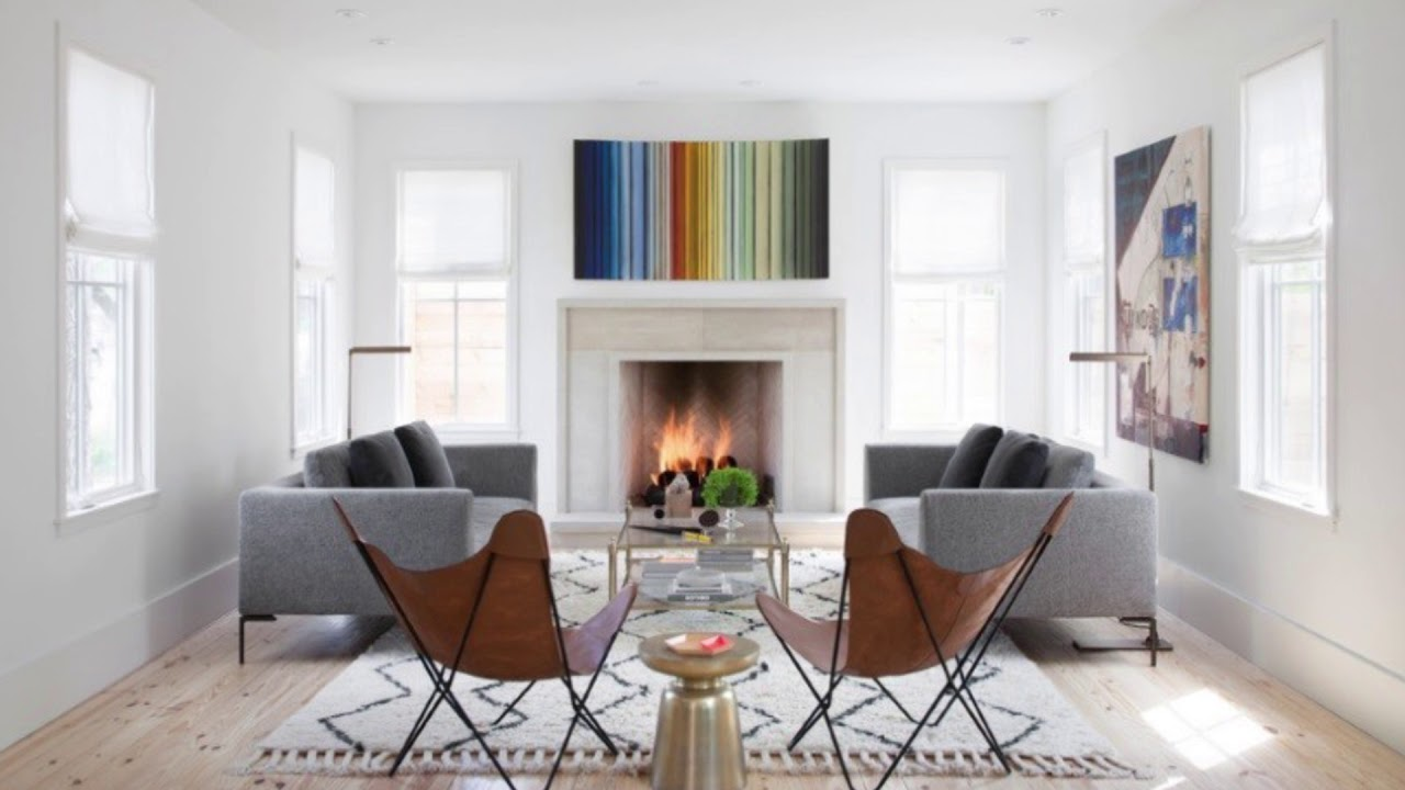 Modern Fireplace Ideas For The Perfect Cozy Living Room Youtube