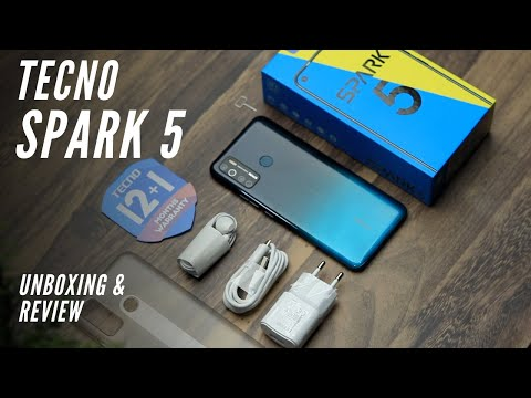 Tecno Spark 5 unboxing and review
