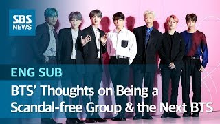 Baixar BTS' Thoughts on Being a Scandal-free Group & 'the Next BTS' (ENG SUB) / SBS