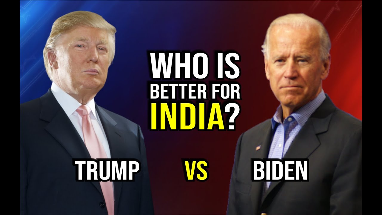 US Election 2020 : Trump vs Biden || Who is Better for India ?
