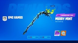 CLAIM THE FREE PICKAXE in Fortnite! (MERRY MINT)