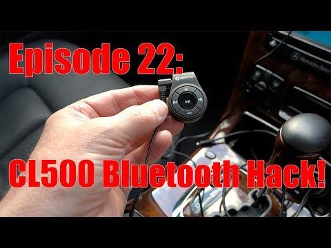 Mercedes-Benz CL500 - Bluetooth Streaming Hack / Workaround