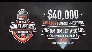 $40,000 PUBG MOBILE PRO CHAMPIONSHIPS DAY 1 - Hosted By Omlet Arcade!