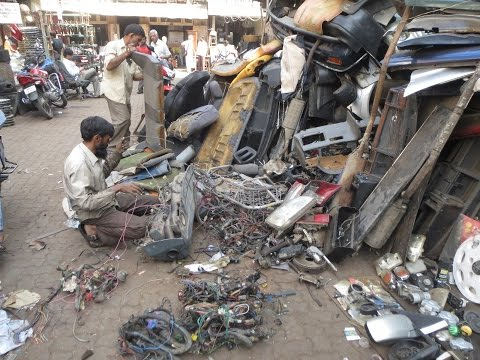 CHOR BAZAAR | BIGGEST AUTOMOBILE SPARE PARTS MARKET IN INDIA