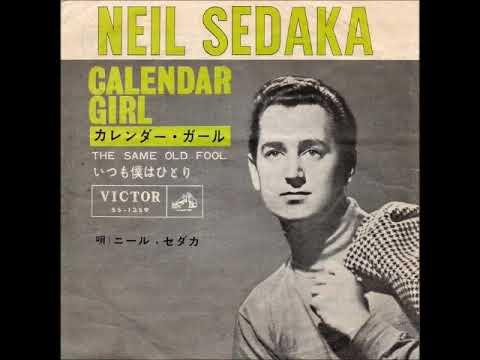 Neil Sedaka Calendar Girl.ニール セダカneil Sedaka カレンダー ガールcalendar Girl 1961年
