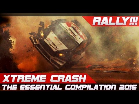 WRC RALLY CRASH EXTREME BEST OF 2016 THE ESSENTIAL COMPILATION! PURE SOUND!