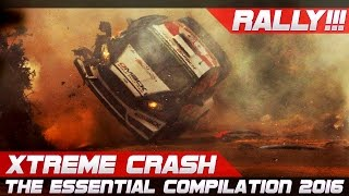 WRC RALLY CRASH EXTREME BEST OF 2016-2018 THE ESSENTIAL COMPILATION! PURE SOUND!