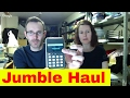 Sunday Live hangout - Mini Jumble sale haul and ebay sales - How to sell on ebay