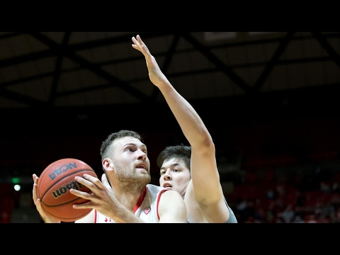 Recap: Utah men's basketball grinds out close win over Washington State