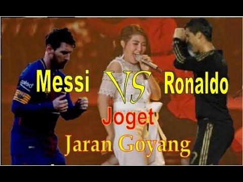FUNNY...! Messi vs Ronaldo dance battle