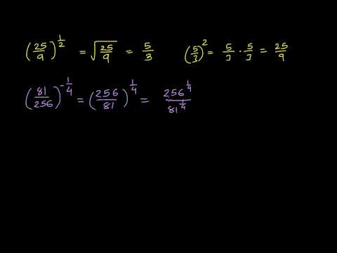 Evaluating fractional exponents: fractional base