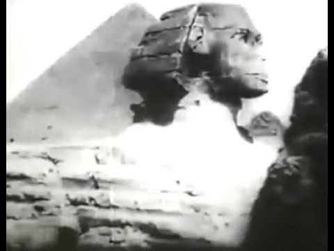 Filmed in 1897, THIS is the OLDEST footage of the Great Sphinx of Giza