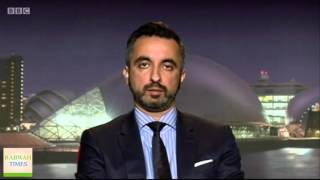 BBC News: Lawyer Aamer Anwar gets death threats for bringing Ahmadiyya & Sunni Muslims together