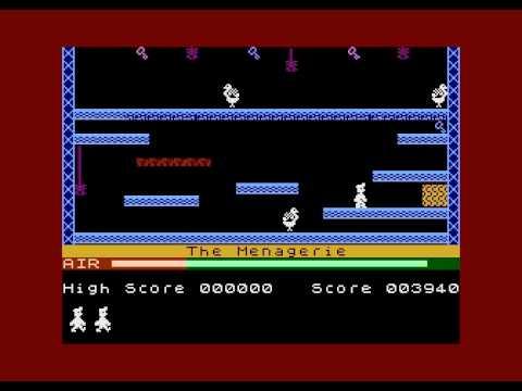 Manic Miner Atari XL/XE Playing Levels1-7