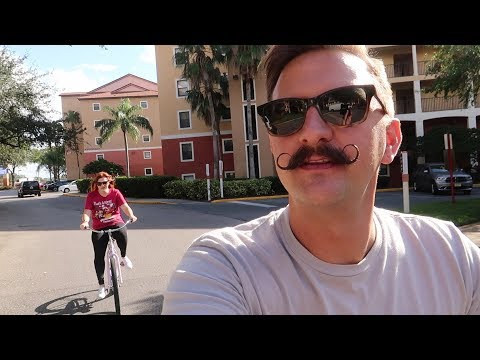 Our Stay At Westgate Lakes Resort & Spa | Hotel Grounds Bicycle Tour & King Room Tour