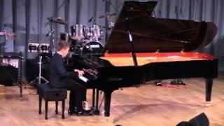 С. Джоплин «Рэгтайм» As-d. Гордица Алексей (фортепиано). Видное, 27.02.2016