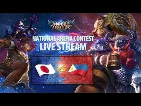 Philippines vs Japan - National Arena -Cash Giveaway