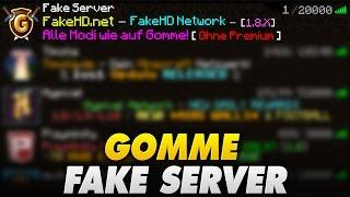 GRÖßTER GOMME FAKE SERVER - 1 zu 1 KOPIERT