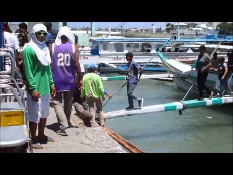 Port of Iloilo Philippines,  Pump boat ferry service to Guimaras Island