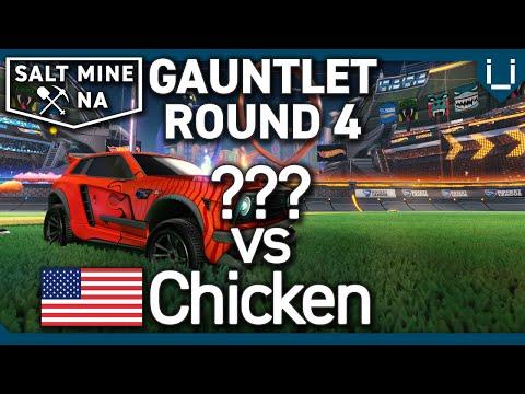 Salt Mine NA Ep.32   Gauntlet Round 4   ??? Vs Chicken   1v1 Rocket League Tournament