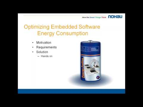 How to use Lauterbach to optimize your applications for power consumption.