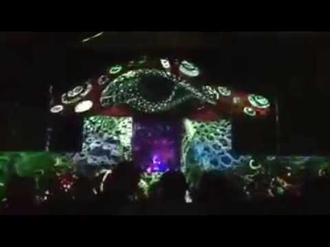 Mushroom Valley Festival 2014 - Video Mapping Stage Design
