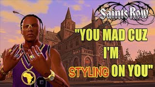 """LOC DOG ICED OUT AND STRAPPED UP! ( FUNNY """"SAINTS ROW"""" GAMEPLAY #18)"""