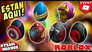 Eggs (Prizes) Avengers New Roblox Egg Hunt Event 2019