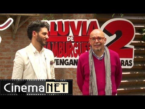 Las voces de LLUVIA DE HAMBURGUESAS 2 (2013)