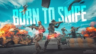 Sniping at it's best! ft.BTS! PUBG Mobile Live Gameplay!