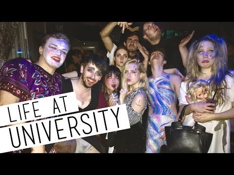 A Day In My Life At University + HALLOWEEN!  📚 Durham University
