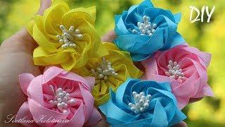 Encantadas flores de Fitas – Passo a passo