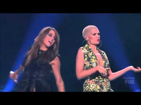 Jessie J and Angie Miller - Domino (American Idol)