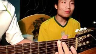 Mưa thủy tinh - Nam vs Tu [Dạy guitar Hải Phòng]