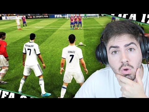COBRANÇAS DE FALTA DO FIFA 94 AO FIFA 19!!! EVOLUÇÃO DO FIFA AO LONGO DO TEMPO! thumbnail