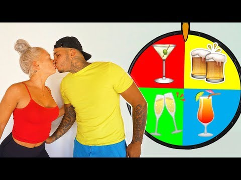 Mystery Wheel Of Gross Drinks Challenge!!  (1 Spin = 1 Drink)