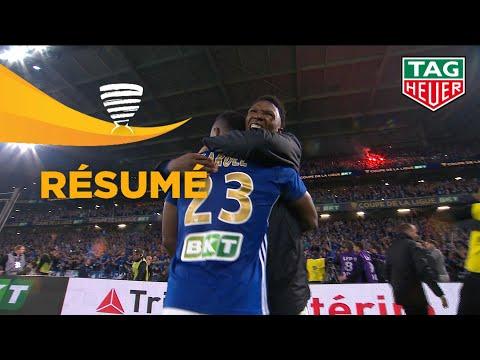 RC Strasbourg Alsace - EA Guingamp (0-0 a. p. 4 tab à 1) Finale - Résumé - (RCSA - EAG) / 2018-19