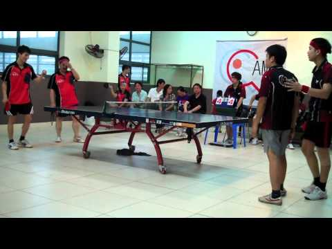 Hanoi Premiership 2012, Tabble Tennis, 20120414, Ams vs Ba Đình, Double 1 - Set 5