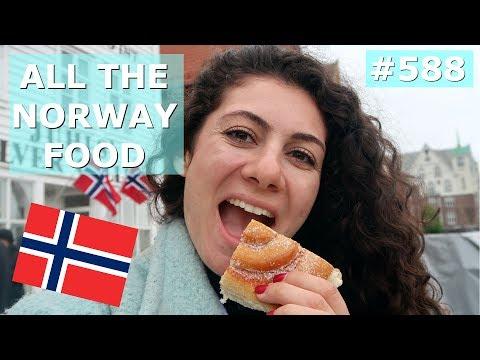 NORWAY FOOD PORN DAY 588   TRAVEL VLOG IV