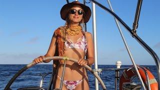 No Autopilot? No Problem. (Sailing La Vagabon...